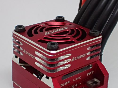 Acuvance Ultra High-Speed Rotation Fan unit ( Red )