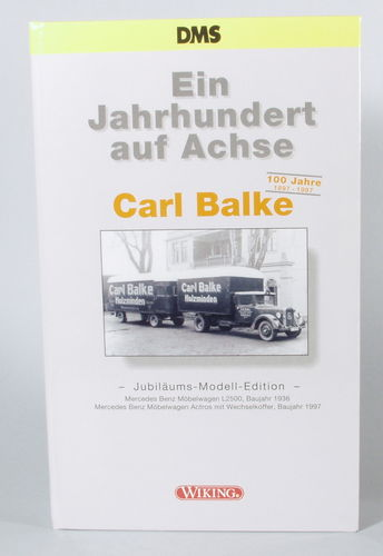 Wiking Carl Balke Jubiläums-Modell-Edition