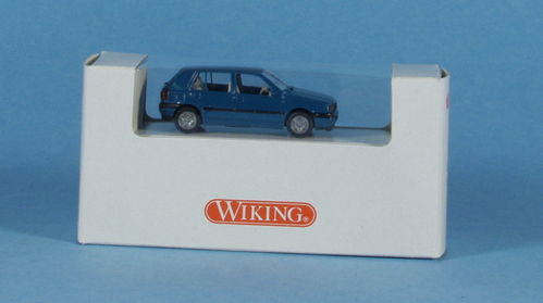 Wiking 51/1 VW Golf GL blautürkis