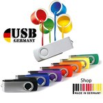 über 250 Varianten USB Flash Drive Twister-Swivel