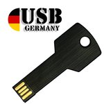 4GB USB Stick – Key black