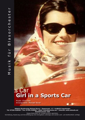 Girl in a sportscar