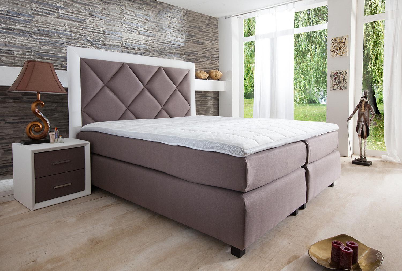 di lara boxspringbett bordeaux 90x200 cm. Black Bedroom Furniture Sets. Home Design Ideas