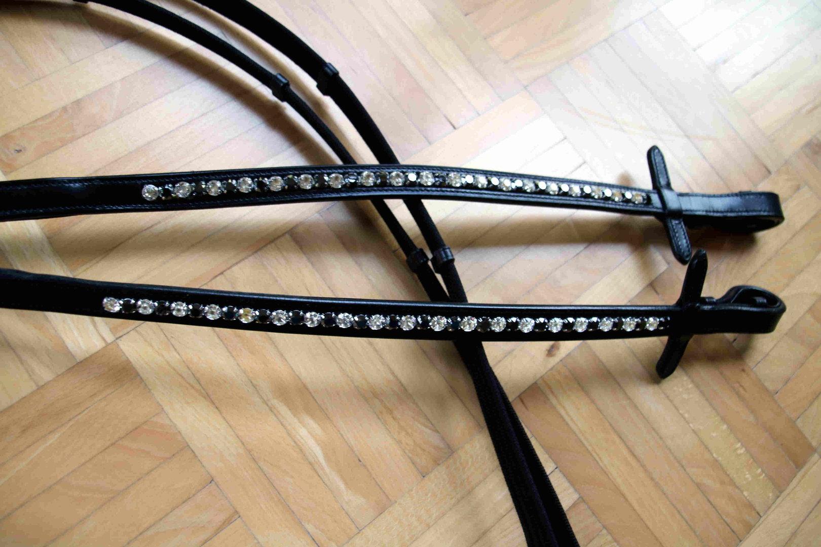 DIY Web Reins with short empty channel - Horsefashon Shop