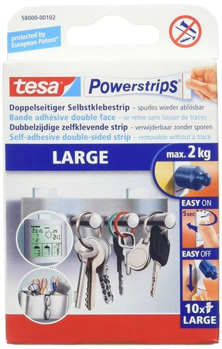 Tesa Powerstrips Large 10