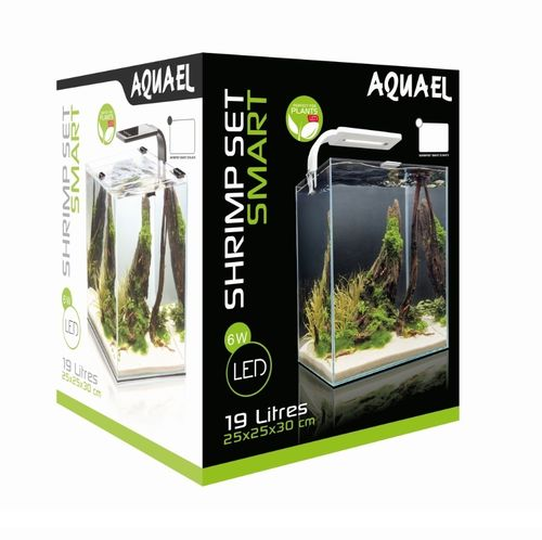 Aquael Shrimp Set Smart 30l Weiss
