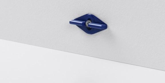 Leistenclip blau für SL 6