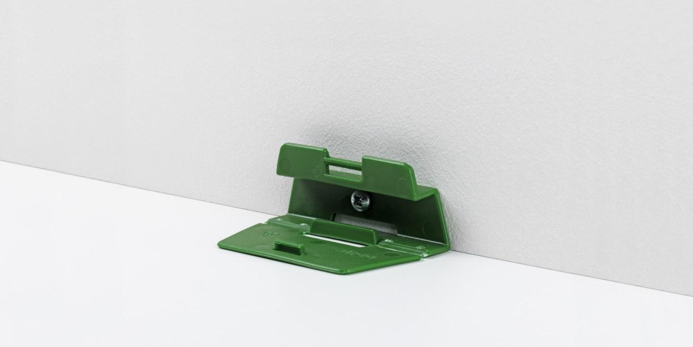 Leistenclip grün für HL 1, HL 2, HL 3 und SL 2