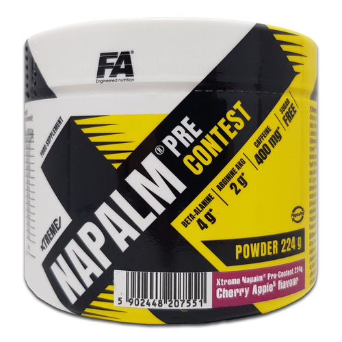 FA Engineerd Nutrition Xtreme Napalm Pre-Contest 224g