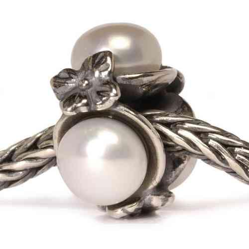 "Trollbeads Silber-Element ""Dreifache Perle"" 51732"