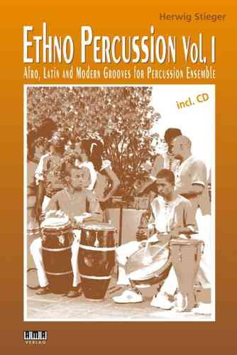 Stieger, Herwig: Ethno Percussion Vol. 1 (Book + CD)