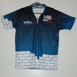 "Martin "" The Wall "" Schindler Dartshirt 2018"