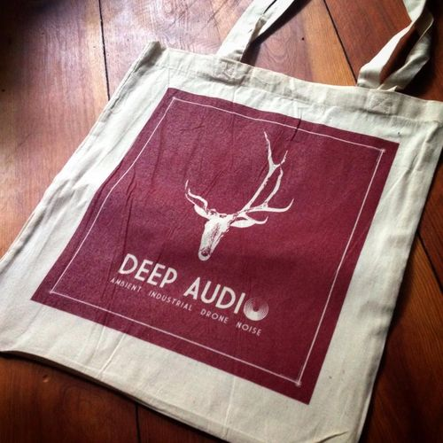 DEEP-AUDIO COTTON BAG