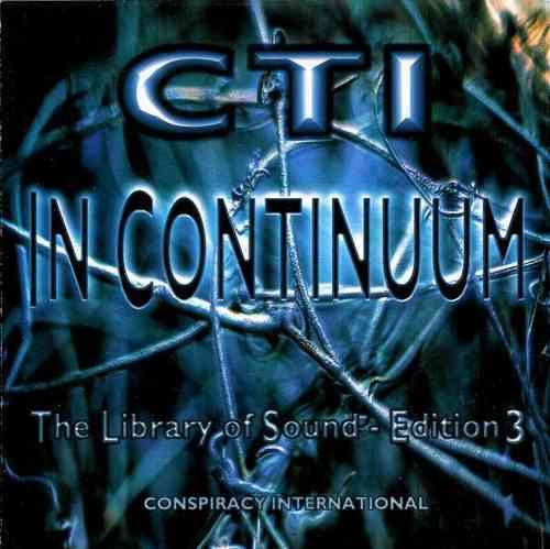 CTI ‎In Continuum The Library Of Sound Vol. 3 CD