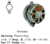Lichtmaschine Thermo King