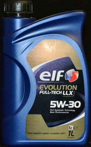 1 Liter Elf Evolution Full-Tech LLX 5W-30 VW 504.00 / 507.00 Motorenöl MB BMW LL