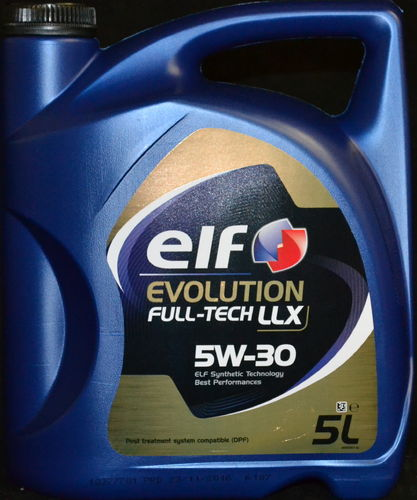 5 Liter Elf Evolution Full-Tech LLX 5W-30