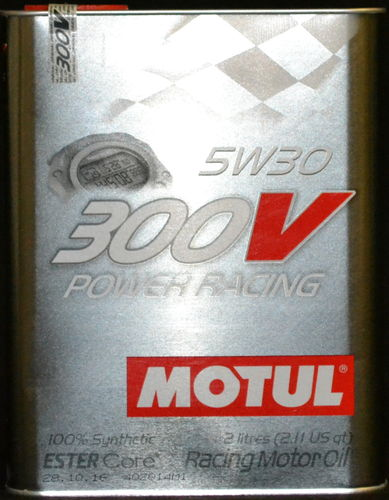 2 Liter Motul 300V Power Racing 5W-30 Motoröl vollsynthetisch