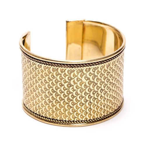 Art Deco Armreif - Gold
