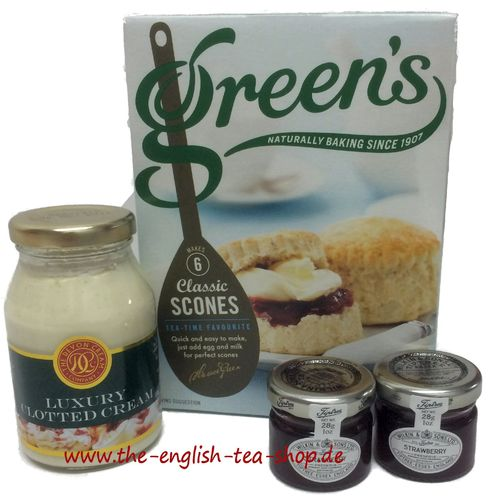 English Afternoon Cream Tea Set - Special Offer