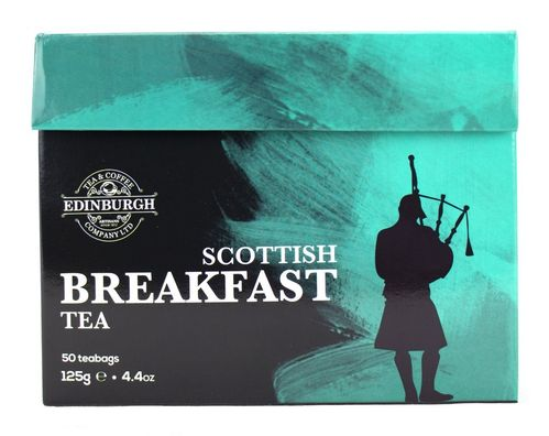 Edinburgh Tea & Coffee Co Scottish Breakfast Tea 50 Teebeutel (125g)