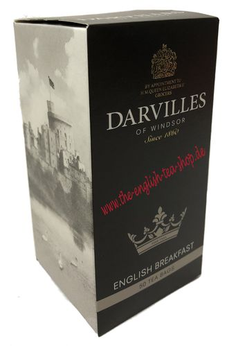 Darvilles of Windsor English Breakfast 50 Teebeutel (125g)