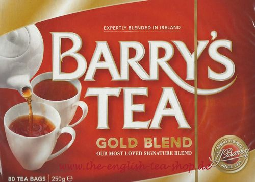 Barry's Tea Gold Blend 80 Tea Bags (250g)