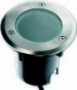 "Low voltage stainless steel walk-over/drive-over round light ""Dresden"""