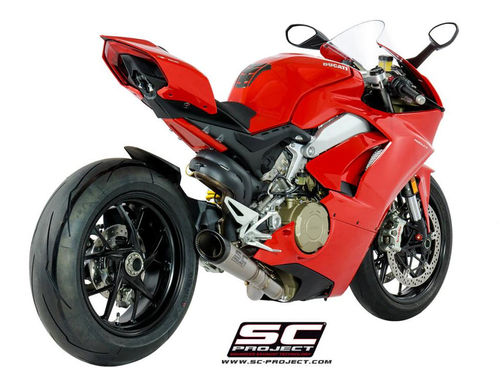 Slip-On with S1 silencer Panigale V4 *Price on request*