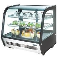 POLAR Tisch Kühlvitrine 120 Liter