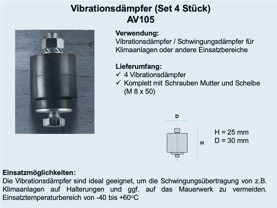Vibrationsdämpfer AV105