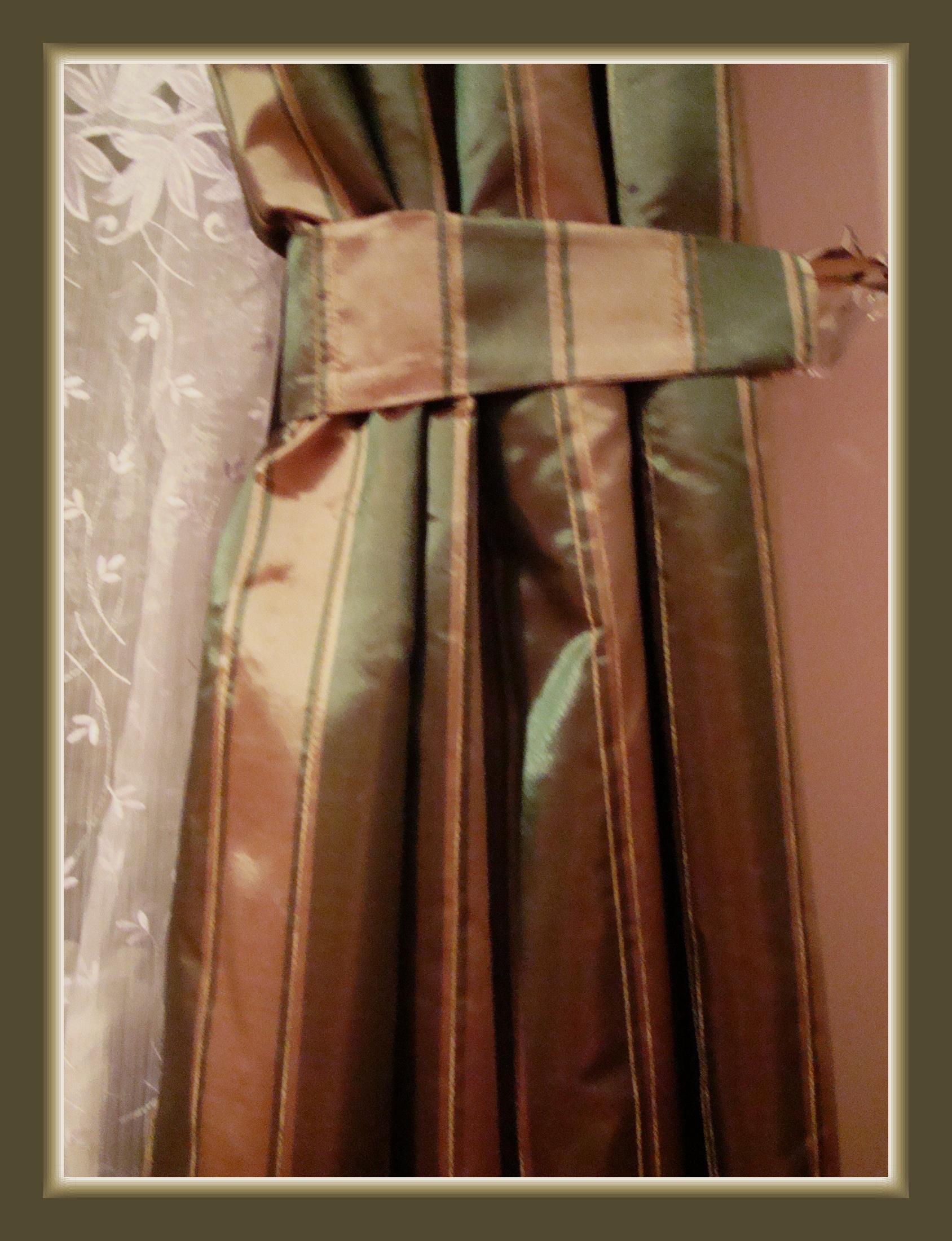Klassisch barock streifen edel bergardine vorhang taft - Vorhang barock ...