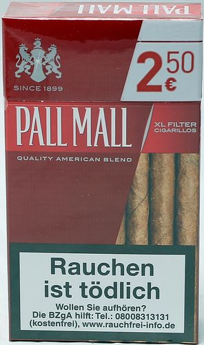 PALL MALL Zigarillos red