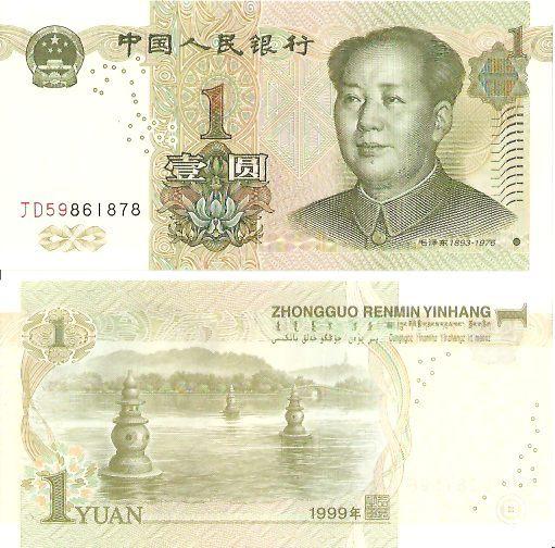 Geldscheine China