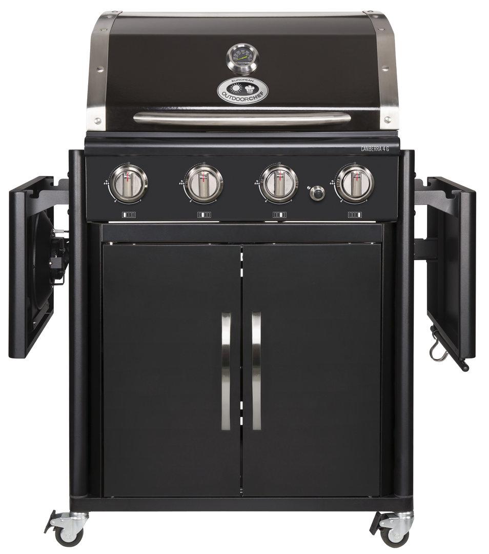 outdoorchef canberra 4 g schwarz im norden die nummer eins. Black Bedroom Furniture Sets. Home Design Ideas