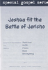 Joshua fit the Battle of Jericho SATB