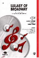Lullaby of broadway SATB