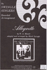 Allegretto SATB (Swingle Singers)