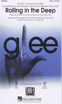 Rolling in the deep Glee Version SATB