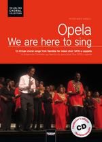 Opela - 13 African Choral Songs mit CD SATB