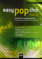 Easy Popchor Vol. 2 deutsch-Pop C. Gerlitz SAM