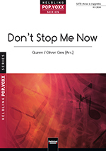 Don't stop me now von Queen arr. O.Gies SATB