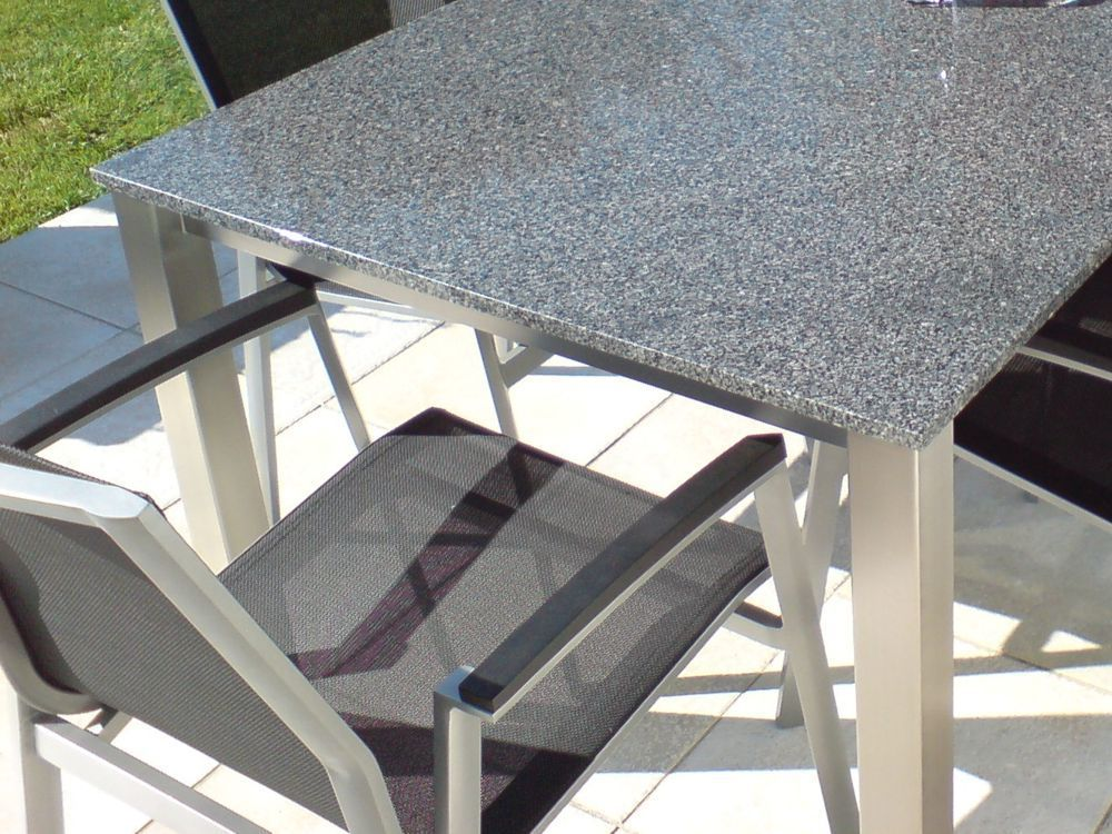 luca granit gartentisch alpgranit. Black Bedroom Furniture Sets. Home Design Ideas