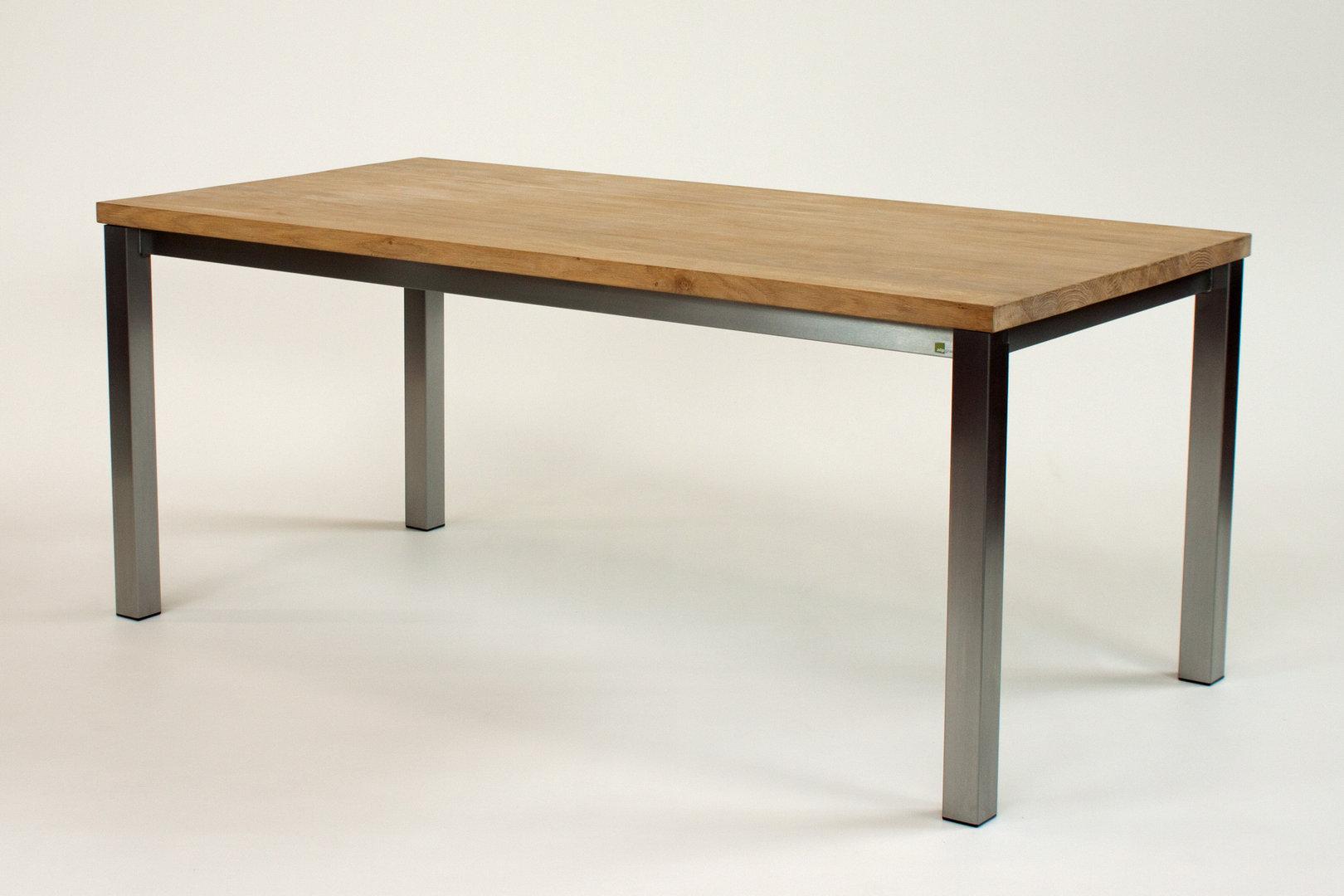 esstische mit holz tischplatte alpgranit hochwertige keramik und naturstein gartentische. Black Bedroom Furniture Sets. Home Design Ideas