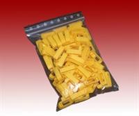 Zander Kreuzklemmen gelb, 100 Stück