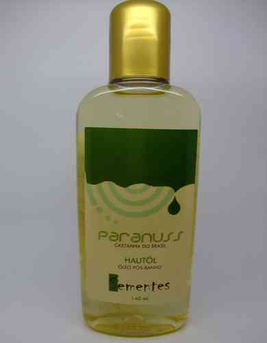 Brazil nut oil for skin care, 140ml, formulated, purely herbal