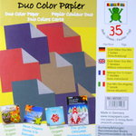 Duo-Color Kraftpapier Mix 8 cm