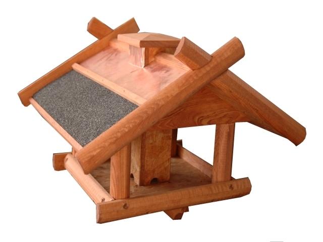 exklusives vogelhaus vogelvilla mit kupferdach st nder und futterdosierer. Black Bedroom Furniture Sets. Home Design Ideas