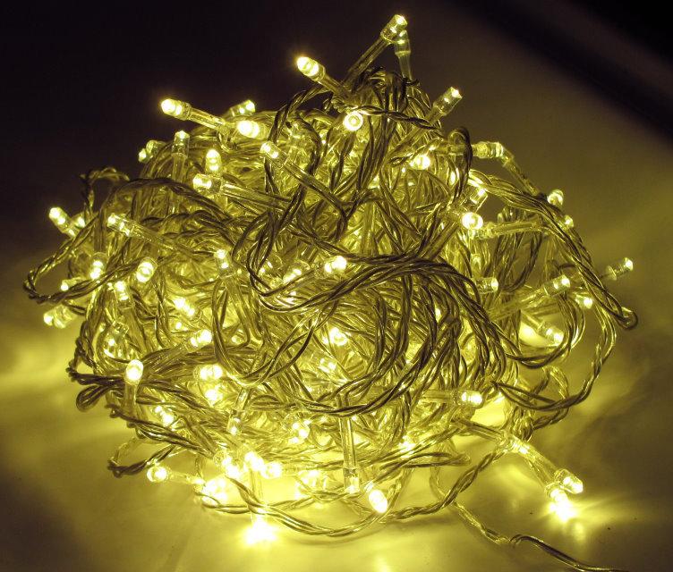 Led Lichterkette Weihnachten.500 Er Led Lichterkette Weihnachten Innen Außen Warmweiss Lk020w