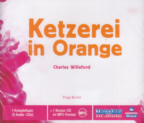 Charles Willeford: Ketzerei in Orange *** Hörbuch *** NEU *** OVP ***